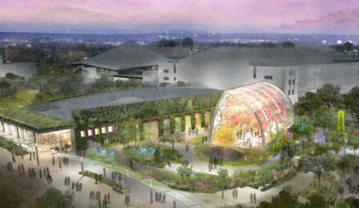 Chihuly Garden and Glass Rendering
