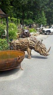 Marvin Gardens - Teak Driftwood Rhino
